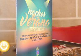 Vuelven las Noches de Verano  con Teatro y Música a Badajoz
