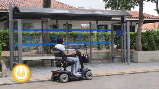 Alvarado cuenta ya con la primera parada de bus totalmente accesible