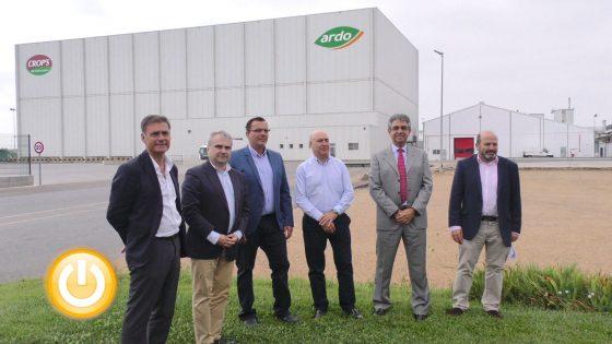 Monliz presenta el proyecto de su nueva planta de distribución