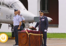 Vidal Fernández, nuevo jefe de la Base Aérea de Talavera la Real