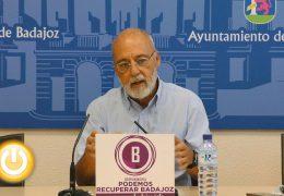 Podemos Recuperar Badajoz lamenta el deterioro de la ciudad en materia de sostenibilidad y participación