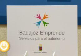 El Ayuntamiento lanza «Badajoz Emprende. Servicios para autónomos»
