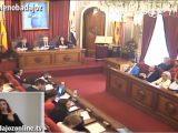 Pleno extraordinario de noviembre de 2018 del Ayuntamiento de Badajoz