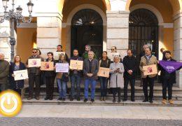 El Ayuntamiento de Badajoz condena el asesinato de una mujer en Monzón