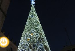 Badajoz enciende la navidad 2018 el 30 de noviembre