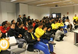 Clausurada la escuela profesional «Badajoz Río»