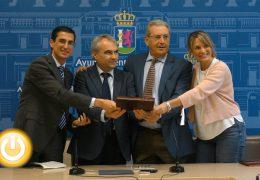 Ibercaja y Fundación CB firman un convenio con IFEBA