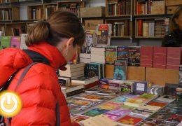 Ya ha llegado a Badajoz la Feria del Libro Antiguo y de Ocasión