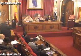 Pleno extraordinario de febrero del Ayuntamiento de Badajoz