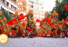 Los Lingotes ganadores del desfile de comparsas del Carnaval de Badajoz