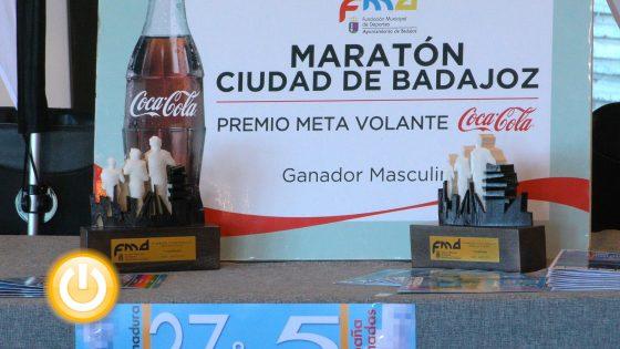 1.700 participantes en la 27º maratón y 5º medio maratón popular ciudad de Badajoz