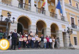 Badajoz guarda un minuto de silencio por la víctima de Parla