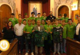 La Unión Balonmano Pacense gana el Campeonato de Extremadura cadete
