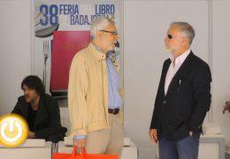 Esparza y Luis Ramiro presentan sus obras en la Feria del Libro de Badajoz
