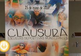 El 25 de mayo se clausuran las Escuelas Deportivas Municipales