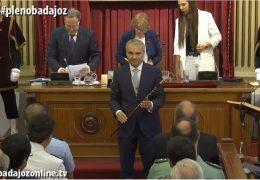 Toma de posesión de la Corporación Municipal del Ayuntamiento de Badajoz 2019