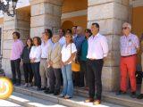 Minuto de silencio en Badajoz en memoria de la última víctima de violencia de género