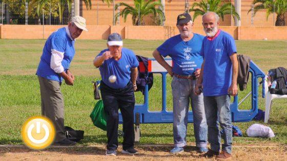 82 parejas se disputan el Campeonato de petanca Ciudad de Badajoz