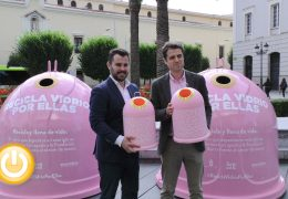 Rueda de prensa concejal de limpieza 18/10/19 Campaña reciclaje prevención cáncer de mama