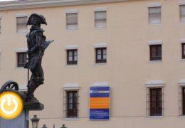 Rueda de prensa alcalde de Badajoz 21/10/19 Proyecto Hospital Provincial