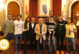 Recepción oficial al Club Atletismo Badajoz tras su exitosa e histórica temporada
