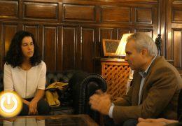Rueda de prensa alcalde de Badajoz 05/11/19- Recepción Miriam Casillas
