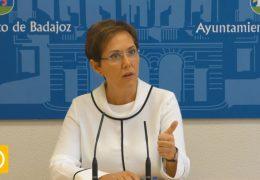 Rueda de prensa concejala Patrimonio y Contratación 07/11/19