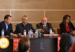 Rueda de prensa alcalde de Badajoz 07/11/19- Presentación Feria de la Tapa