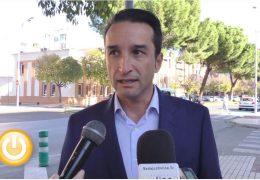 Rueda de prensa Ricardo Cabezas 08/11/19- Barriada de Valdepasillas