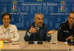 Rueda de Prensa Alcalde de Badajoz 20/11/19- Policía Local