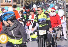 IX Ciclocabalgata solidaria de Badajoz Navidad 2019