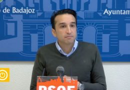 Rueda de prensa PSOE- 27/01/20- C.D. Badajoz