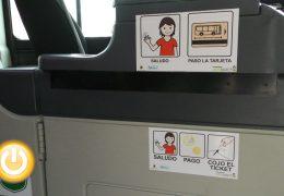 Tubasa incluye pictogramas en los autobuses para facilitar el uso a personas con autismo
