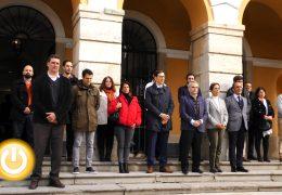 Segundo minuto de silencio de esta semana en Badajoz