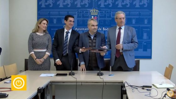 Rueda de prensa alcalde 17/02/20- Firma convenio Fundación CB