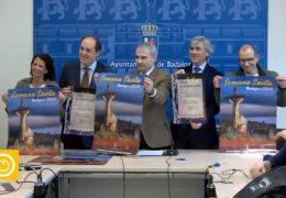 Rueda de prensa alcalde- Presentación cartel y pregón Semana Santa