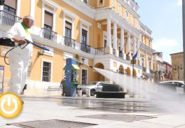 Badajoz acometerá mañana una gran operación de desinfección