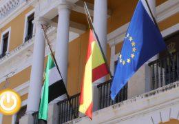 Badajoz, de luto oficial: minuto silencio por las víctimas del coronavirus