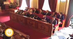 Pleno de enero de 2009 del Ayuntamiento de Badajoz
