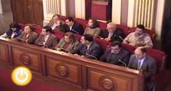 Pleno de febrero de 2009 del Ayuntamiento de Badajoz