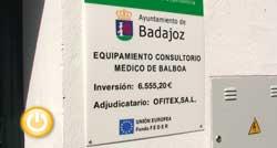 Inauguración del nuevo consultorio médico de Balboa