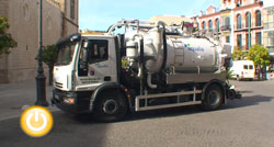 Nuevo camión de desatascos del Servicio Municipal de Aguas