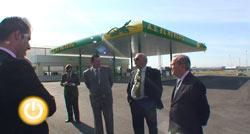 Inauguración de una nueva estación de servicio en el polígono industrial de El Nevero