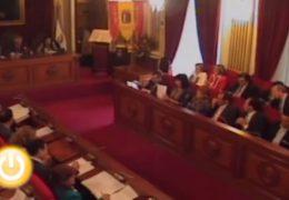 Pleno de mayo de 2009 del Ayuntamiento de Badajoz