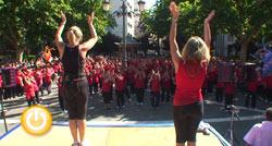 Clausura de la gimnasia de los Centros Municipales de Mayores