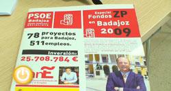 El PSOE edita 30.000 panfletos informativos sobre las obras del Plan E