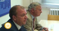 Monago se reune con Celdrán para tratar varios temas relativos al futuro de Badajoz