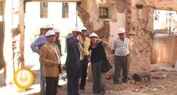La finalización de las obras del Mercado de Santa Ana y de la futura sede de Cultura está prevista para finales de año