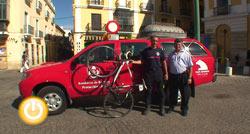 Ricardo Royano, bombero del Ayuntamiento de Badajoz, acudirá a la Olimpiada de Bomberos y Policias en Canadá