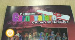 Presentación del I Certamen Carnavalero Ciudad de Badajoz